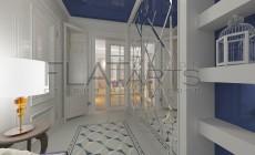 Дизайн квартиры в стиле арт-деко 94кв.м.