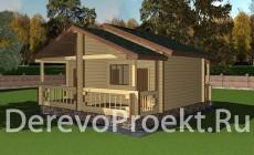 Проект гостевого дома на 2 номера