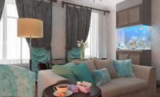 Гостиная в квартире в Санкт-Петербурге