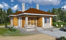 Проект кирпичного дома 41-88
