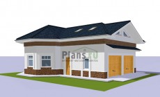 Проект кирпичного дома 41-95
