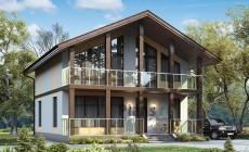 Проект кирпичного дома 42-31