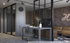 Однокомнатная квартира-студия в стиле Лофт