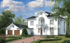 Проект кирпичного дома 42-55