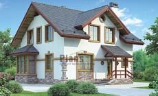 Проект кирпичного дома 42-56