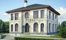 Проект кирпичного дома 42-59