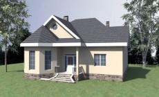 Проект удобного одноэтажного дома