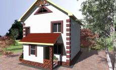 Проект 2-этажного дома