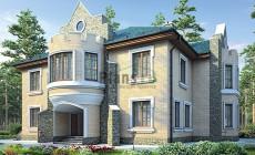Проект кирпичного дома 42-66