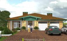 Готовый проект дома - Таёжный - Ульяновск