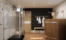 Дизайн моечной в частном доме