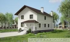Проект дома 1533-10 с подвалом