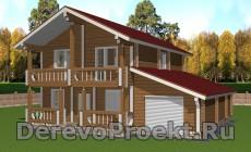 Проект двухэтажного дома 200м2
