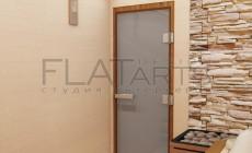 Дизайн проект банного комплекса 130 кв.м. сауна