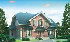 Проект кирпичного дома 36-90