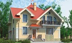 Проект кирпичного дома 36-91