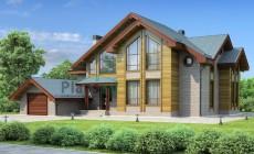 Проект кирпичного дома 36-92