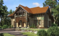 Проект кирпичного дома 36-95
