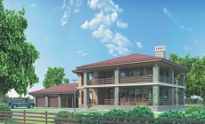 Проект кирпичного дома 36-96