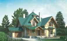 Проект кирпичного дома 37-00