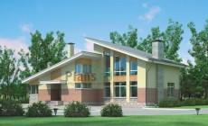 Проект кирпичного дома 37-03
