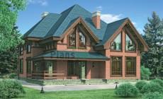 Проект кирпичного дома 37-05