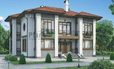 Проект кирпичного дома 37-09