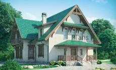 Проект кирпичного дома 37-10