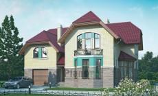 Проект кирпичного дома 37-12