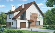 Проект кирпичного дома 37-15