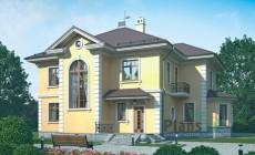 Проект кирпичного дома 37-19