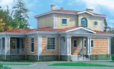 Проект кирпичного дома 33-23