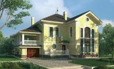 Проект кирпичного дома 37-24