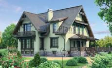 Проект кирпичного дома 37-25