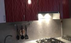 """Кухня """"Красный дождь"""" от Premier Garden"""