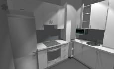 Кухня в студии от Premier Garden