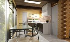 Дизайн проекты кухонь в квартирах и загородных домах