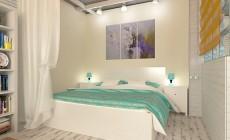 Дизайны спальней в квартирах
