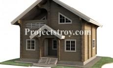 Скачать рабочую документацию на деревянный дом