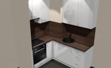 Угловая кухня (от проекта до воплощения)