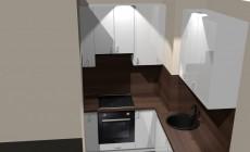 Угловая кухня (от проекта до воплощения) от Premier Garden