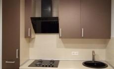 Кухня с декоративной подсветкой