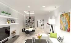 Дизайн квартиры в скандинавском стиле.