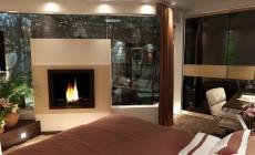 Спальная комната 20 кв. м в современном стиле.