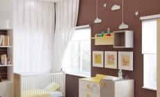 Детская комната 14 кв. м для малыша