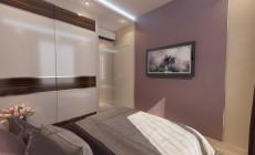 Спальная комната 10 кв. м в современном стиле для молодого человека