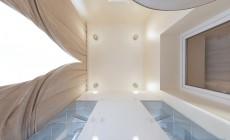 Балкон спальной комнаты в современном классическом стиле
