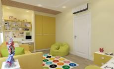 Детская комната 18 кв. м в частном загородном коттедже