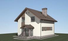 Проект жилого дома в г. Севастополь