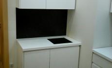 кухня МДФ - эмаль с интегрированными ручками